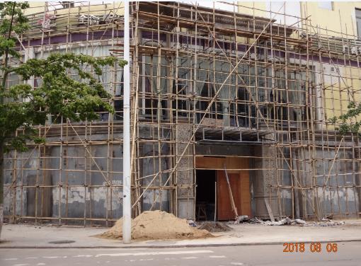 外墙grc水泥构件,玉林容县英都KTV实拍