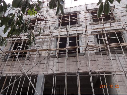 南环路私人别墅与柳州监狱外墙grc构件实拍