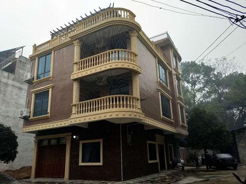 柳州柳江区拉堡私人别墅外墙grc构件项目(完工)