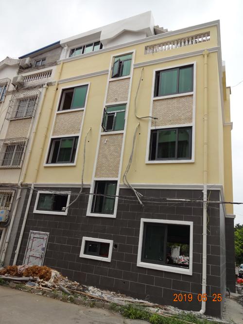 柳州城中东堤私人GRC构件施工案例