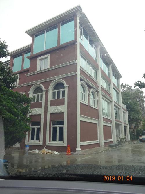 柳州城中兆安私人别墅外墙grc施工案例效果实拍