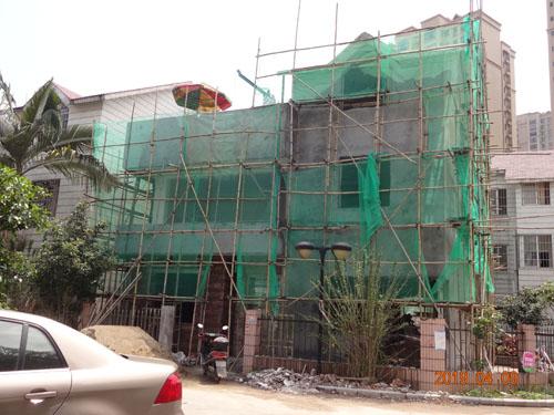 柳州古亭山私人别墅外墙grc构件案例