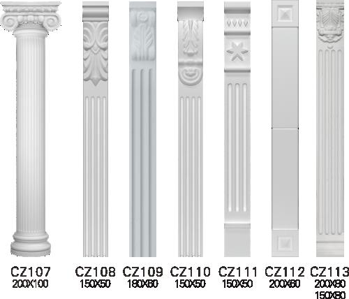 欧式GRC窗套线条构件1