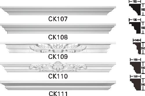 欧式GRC窗套线条构件3