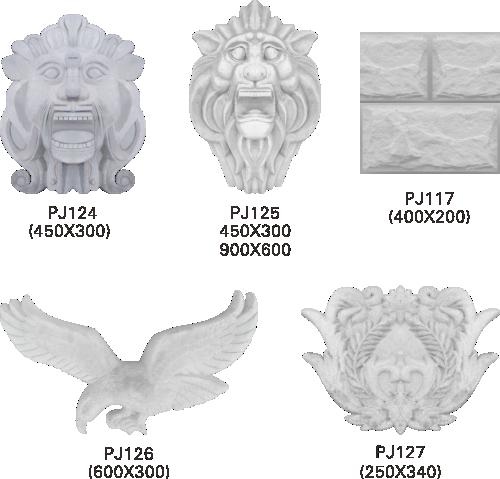 欧式GRc水泥雕塑配件6